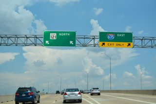 SH 121 north at IH 635/SH 114 - Grapevine, TX