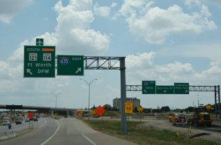 FM 2499/SH 121 south at IH 635 - Grapevine, TX