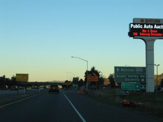 I-80/SR 12 east at I-680 - 2004