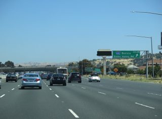 I-80/SR 12 east at I-680 - Fairfield, CA