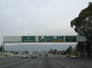 I-280 south at I-680/US 101 - 2007