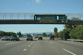 I-680 south at US 101 - San Jose, CA