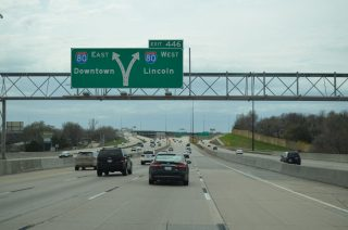 I-680 south at I-80/US 275 - Omaha, NE