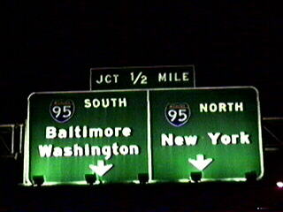 I-695 north at I-95 - 1993