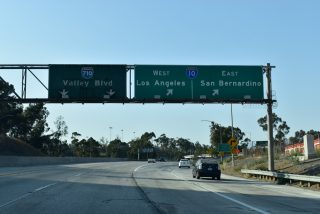 I-710 north at I-10 - Monterey Park, CA