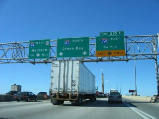 I-43/94 north at I-794 - 2005