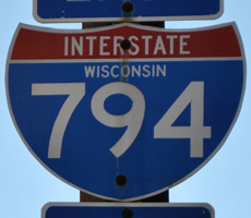 Interstate 794 Wisconsin