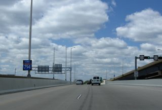 I-794 west at I-43/94 - Milwaukee, WI
