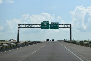 IH 20 east at IH 820 - Ft Worth, TX