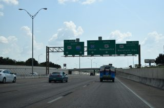 IH 20 east at IH 820/US 287 - Forest Hill, TX