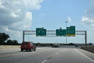 IH 20 east at IH 820/US 287 - Kennedale, TX