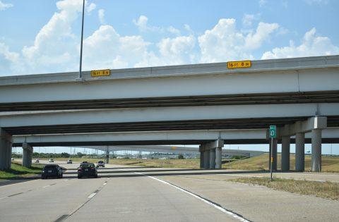 IH 820 south at IH 20 - Ft Worth, TX