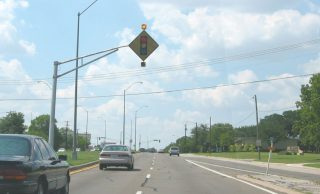 SH 183 north at Overhill Rd - Ft Worth, TX