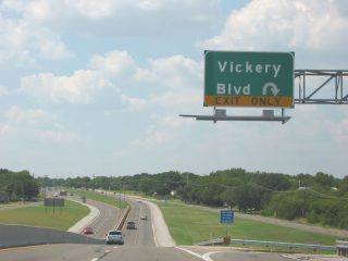 SH 183 north at Vickery Blvd - Ft Worth, TX