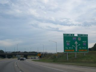 US 45 south at I-94/894 - 2006