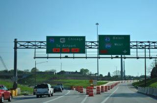 I-43-94/US 41 south at I-894 - 2011