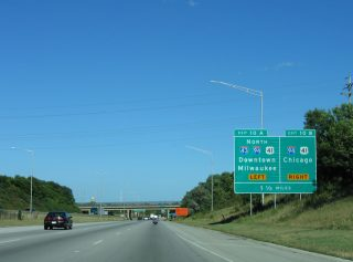 I-43/894 east at I-94/US 41 - 2005