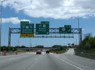 I-43/894 east at I-94/US 41 - 2010
