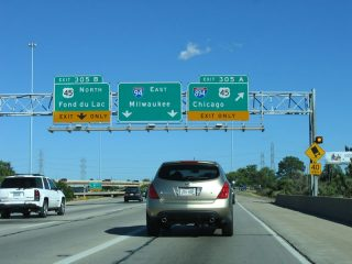 I-94 east at I-894/US 41-45 - 2005