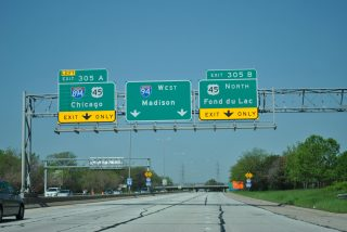 I-94 west at I-894/US 45 - 2011