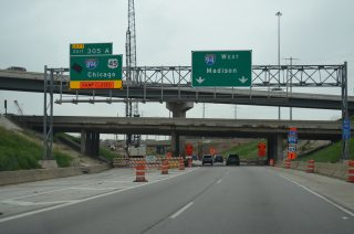 I-94 west at I-41-894/US 45 - 2015