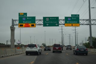 I-41-894/US 45 north at I-94 - 2015