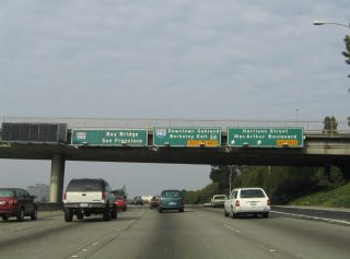 I-580 west at I-980/SR 24