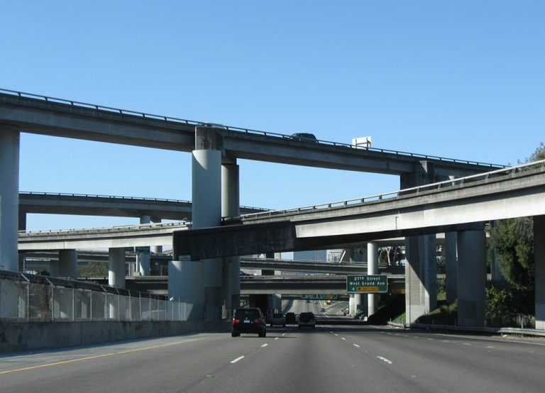 I-980 west at I-580 - Oakland, CA