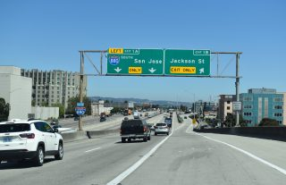 I-980 west at I-880 - Oakland, CA